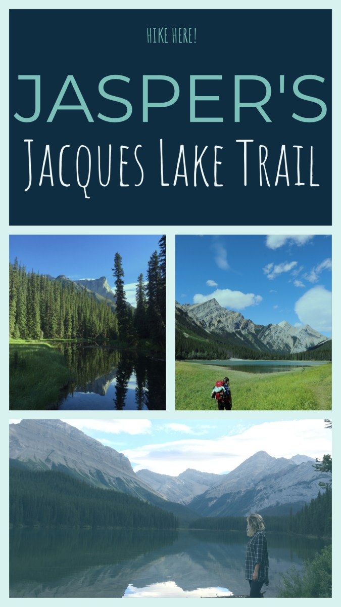 The Jacques Lake Trail is an amazing backpacking trip in the Canadian Rockies. 12.2 km each way!