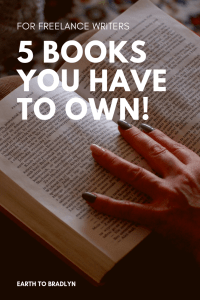 5 books you have to own if you are a freelance writer!