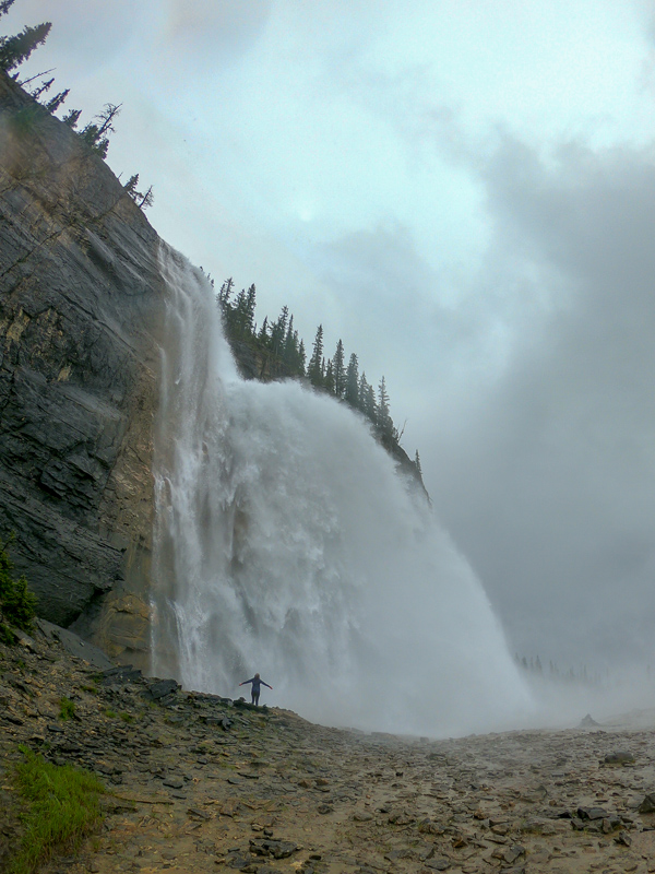 Emperor Falls on the Berg Lake Trail