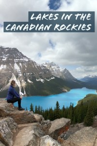 Explore the Beautiful Lakes in the Canadian Rockies! See this post to explore all the magic of crystal blue lakes!