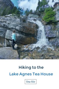 Want to hike in Lake Louise, Canada? Check out the Lake Agnes Tea House Hike and Explore one of the hundred teas they offer!