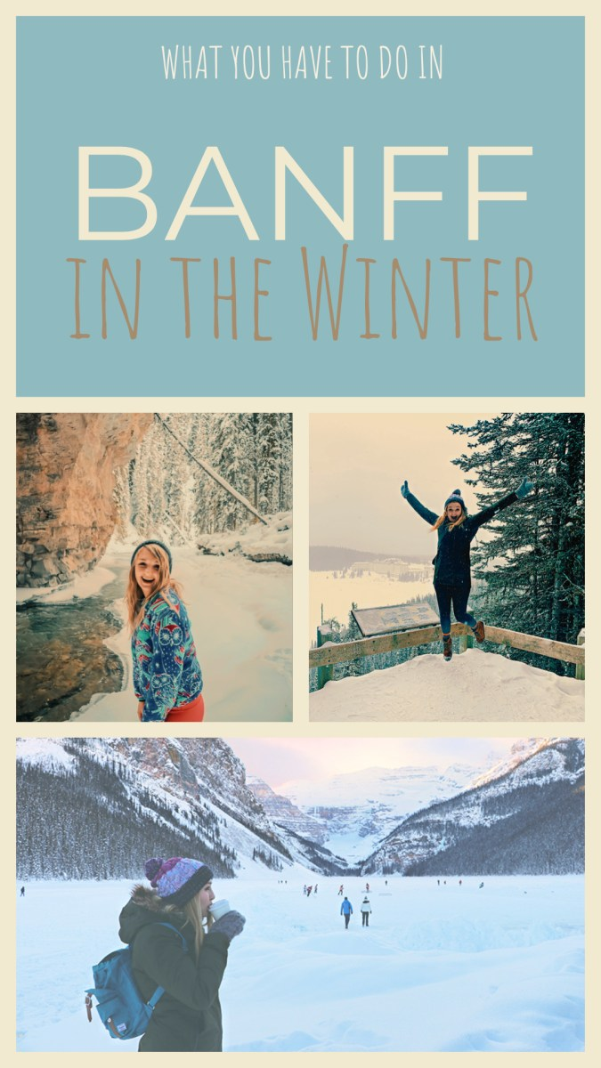 Banff Activities to do in the Winter. Looking for things to do in Banff in the Winter? Check these out!