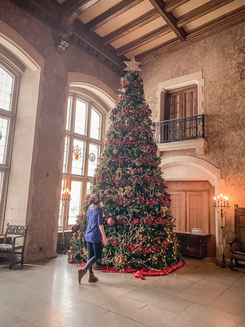 Christmas at the Banff Springs Hotel!