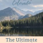 The Best of Colorado Bear lake