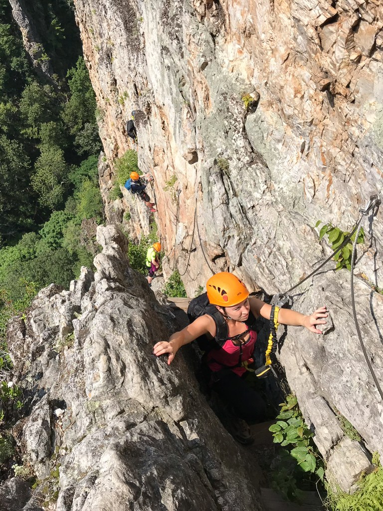 WV Nelson Rocks Via Ferrata