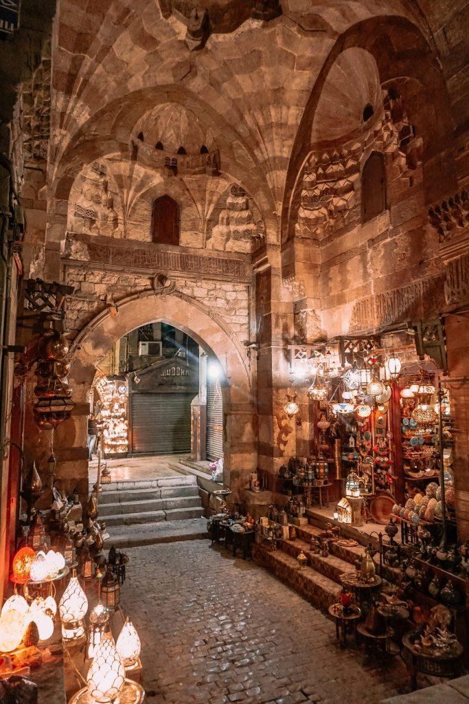 Khan El-Khalili Lights Storefront