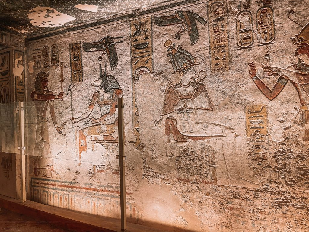 King Ramses Tomb Valley of the Kings