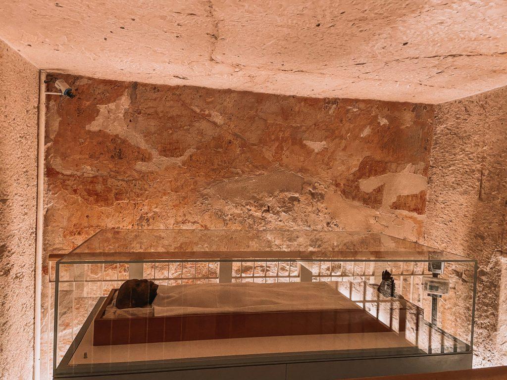 King Tut Mummy, King Tut's Tomb, Valley of the Kings Egypt