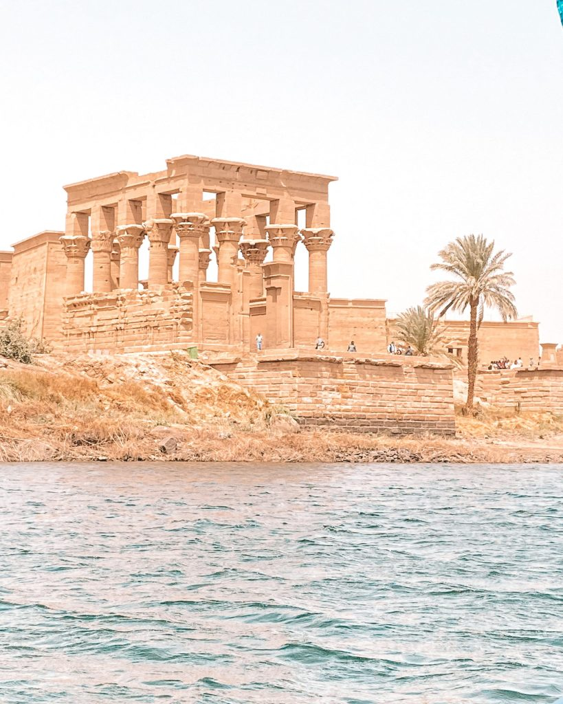 Temple of Philae from the water