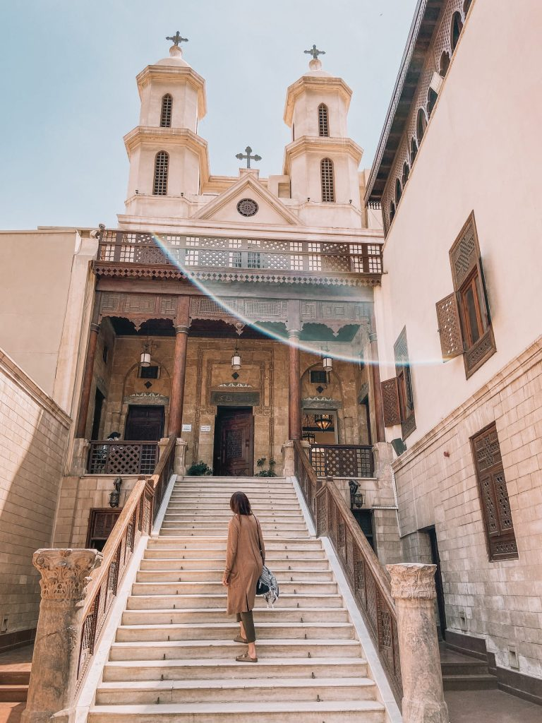 Hanging Church in Coptic Cairo Egypt