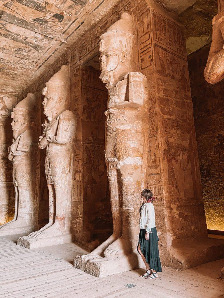 Inside of Abu Simbel Egypt Travel Tips