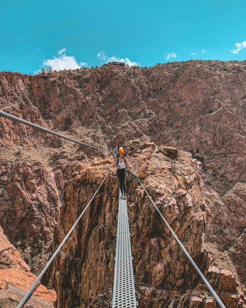 Royal Gorge Bridge Park Via Ferrata Colorado Springs