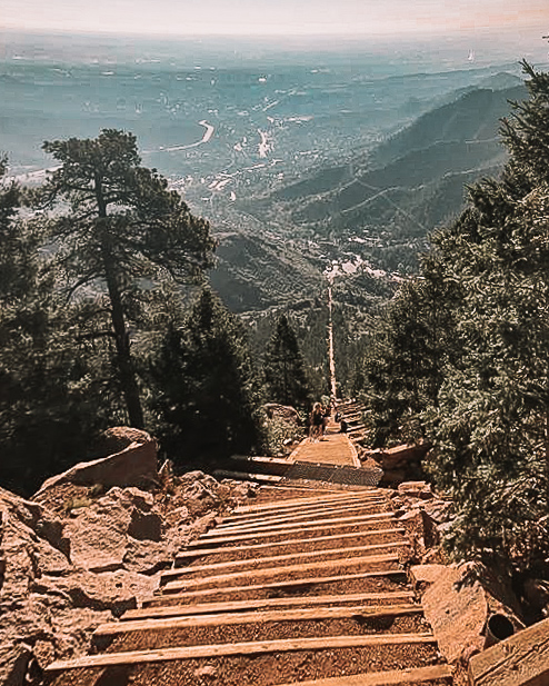 Colorado Stairway to Heaven, Manitou Springs, Fun Things to do in Colorado Springs