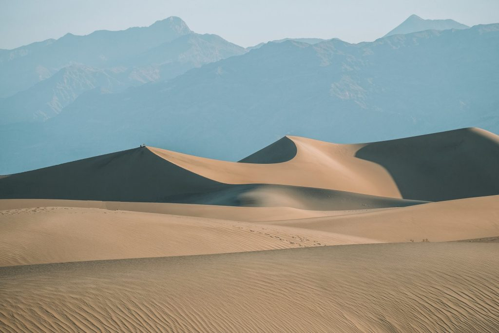 Mesquite Sand Dunes Death Valley to Los Angeles
