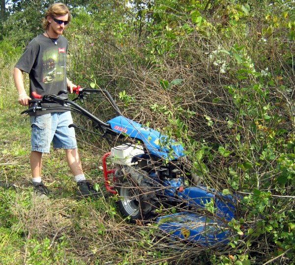 Heavy Duty Walk Sickle Bar Mower - Year of Clean Water