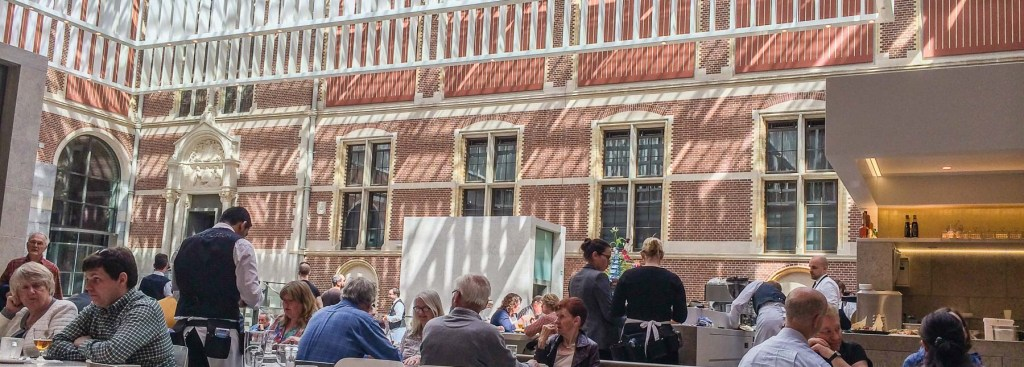 Picture of the restaurant at the Rijks.