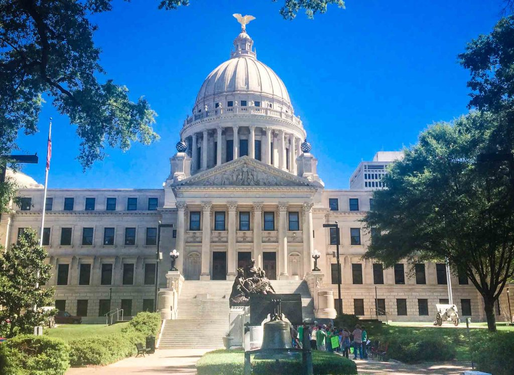 Picture of the Mississippi State Capital