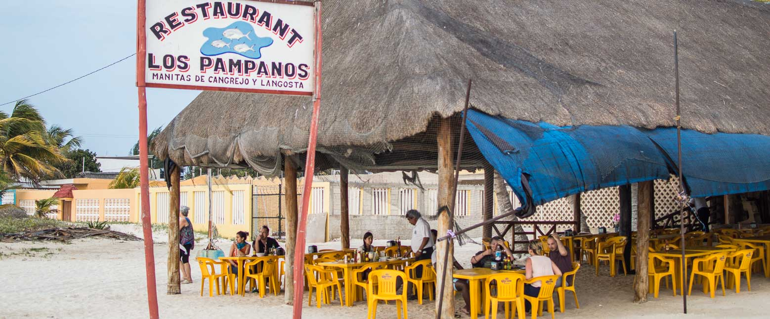 Los Pampanos restaurant, a favorite on our Mexican Road Trip.