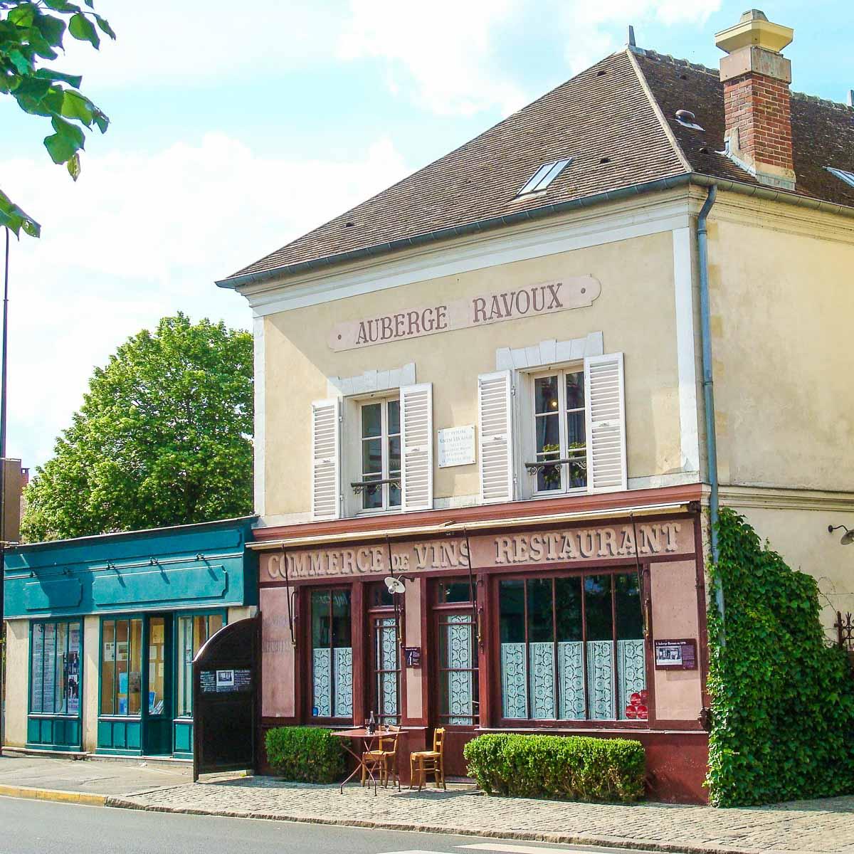 Auberge Ravoux in Auvers-sur-Oise.