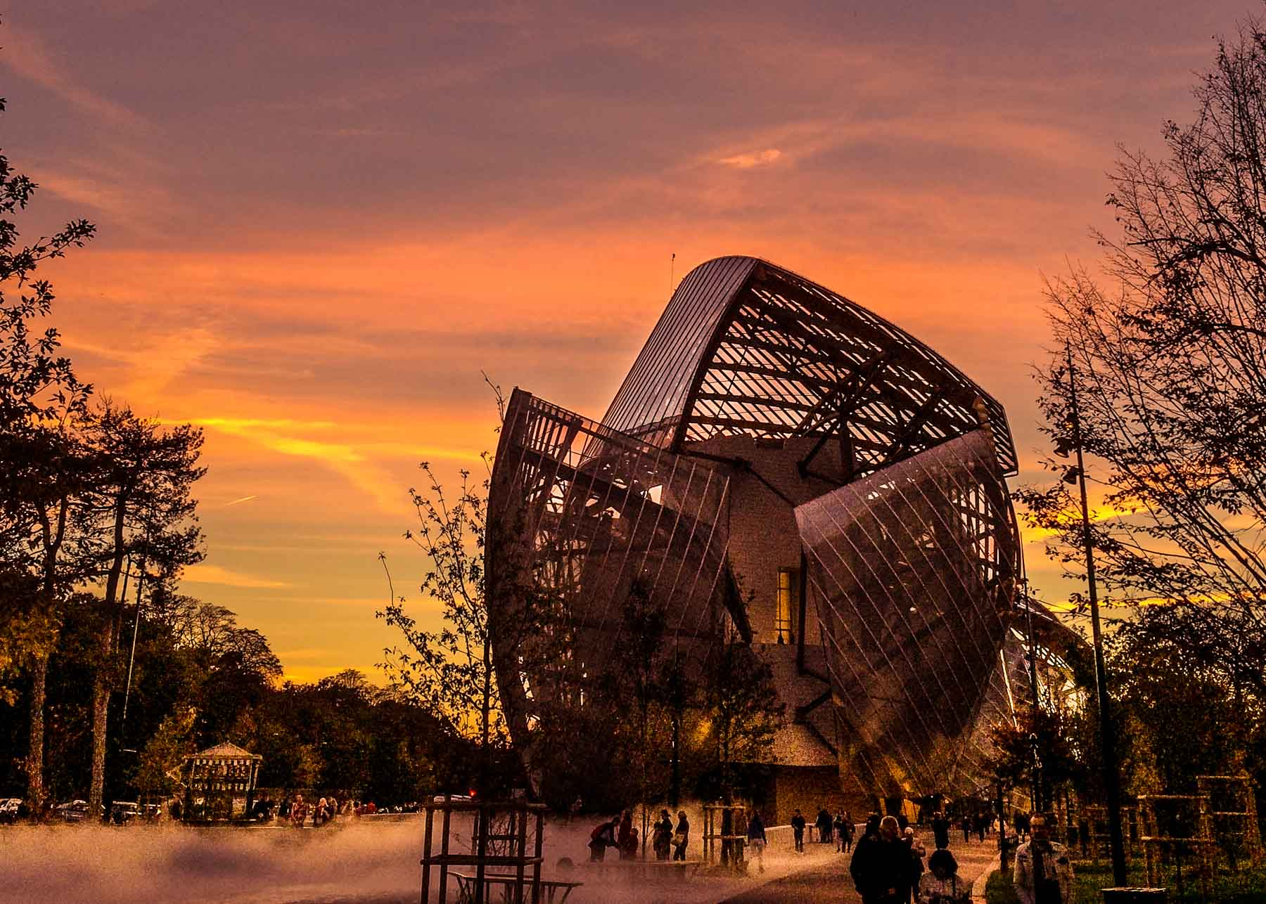 Fondation Louis Vuitton.