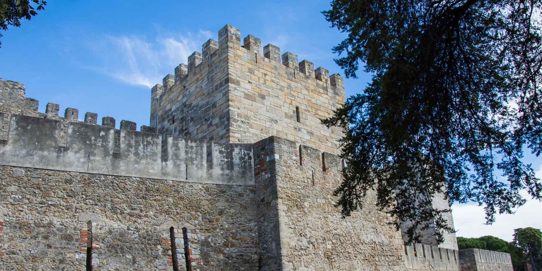 Lisbon's Castelo de S. Jorge.