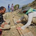 Training day: split bamboo chachra