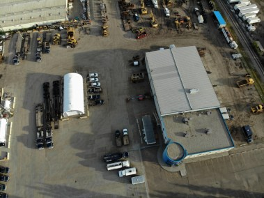 Aerial View of M.A.P. Corporate & Yard