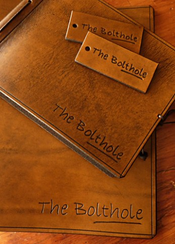 Earthworks Journals Custom Leather Binders For The Bolthole Hotel