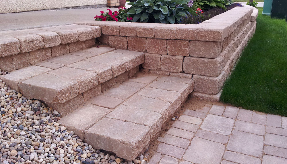 stonework restoration and patio repair