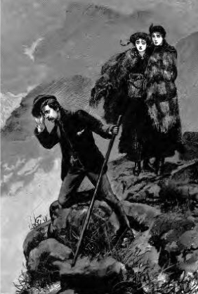 Lost on Table Mountain. The Graphic, 20 Oct 1883.