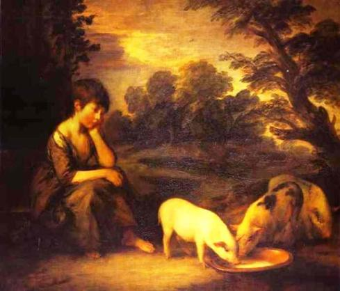 Girl with Pigs, Thomas Gainsborough, 1782.jpg