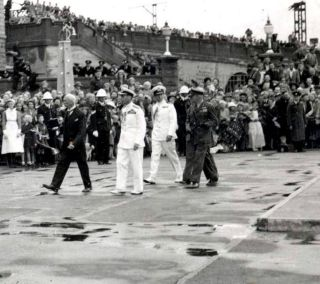 Gen Smuts setting the pace whilst leading the way during the royal visit of 1947. ( own collection, Nico Moolman. )