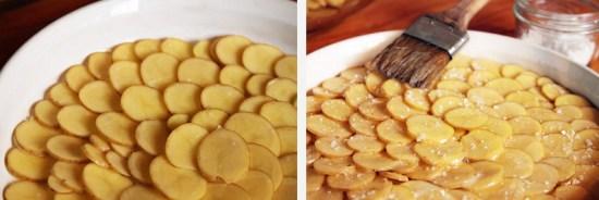 Sliced Fingerling Potatoes