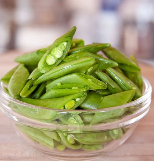 Cut Snap Peas