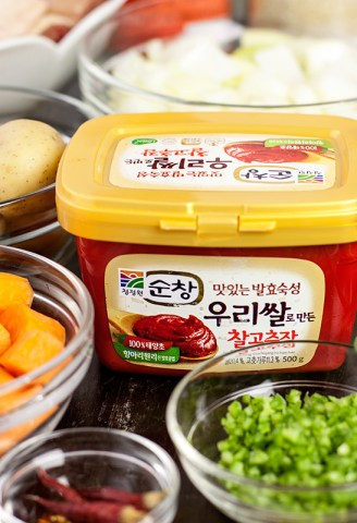 Gochujang with other ingredients