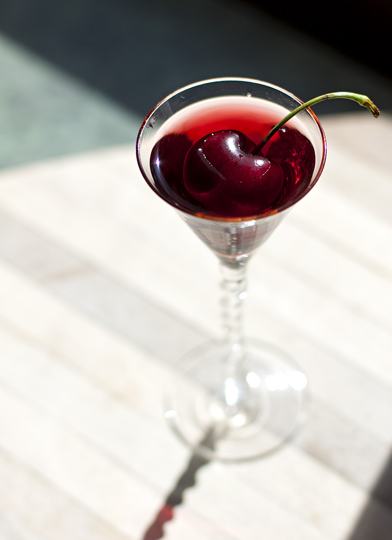 how to make cherry infused vodka