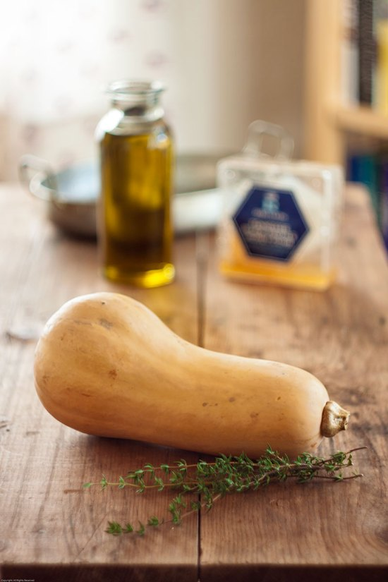 Butternut Squash with other ingredients