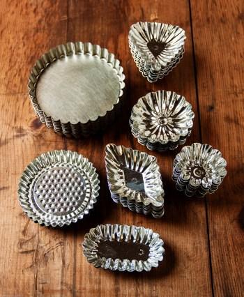 Tartlette tins & sandbakkel molds