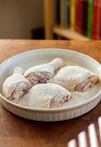 Dredged Chicken