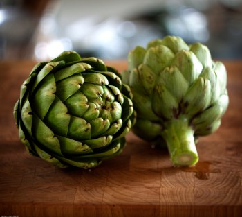 Fresh Heirloom Artichokes