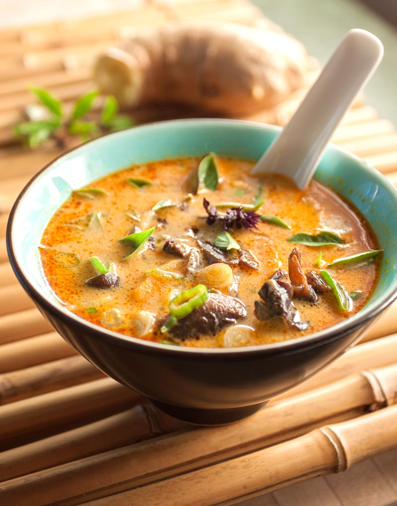 Thai Mushroom and Coconut Soup