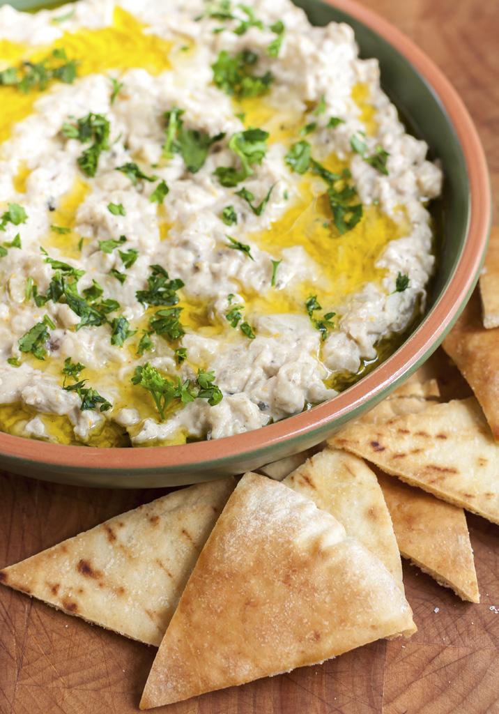 Truffled Baba Ganouj & Crisp Pita Chips