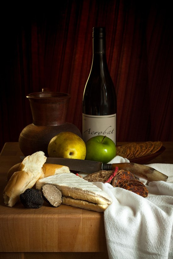 Still Life with Truffled Brie