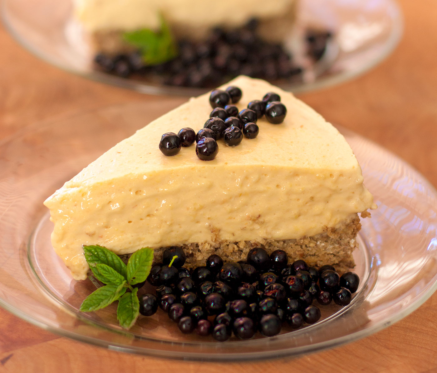 Cool & Creamy Pawpaw Cheesecake with Pecan Crust