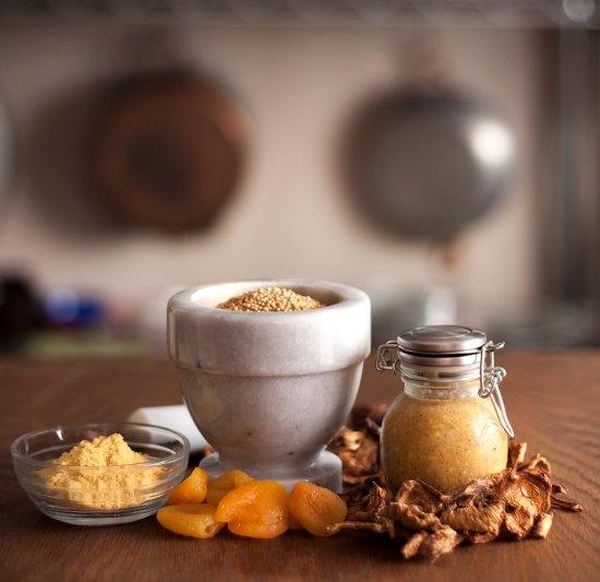 Chanterelle-Apricot Mustard