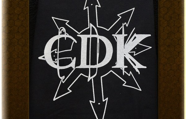 "White on Black CDK ""Chaos"" T-Shirt"