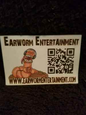 Earworm Entertainment QR Magnet