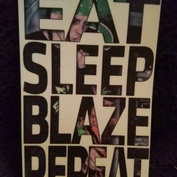 Eat Sleep Blaze Repeat Magnet