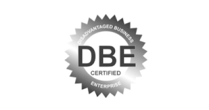 DBE gray logo Commercial Security System