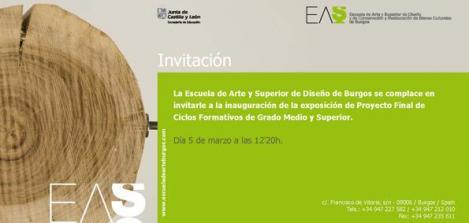 Exposición Proyecto Final De Ciclos Formativos De Grado